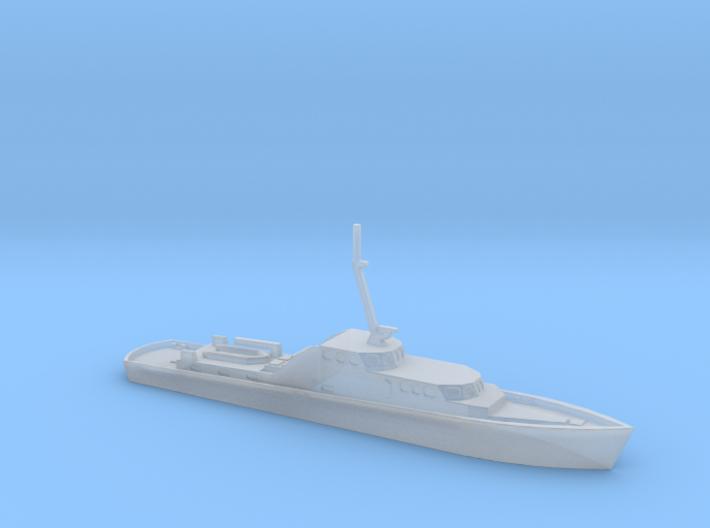 1/700 Scale German Police Boat 3d printed