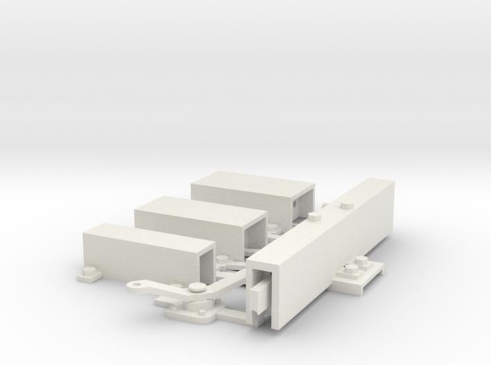 Renvois De Commande (7 modéles differents) 3d printed