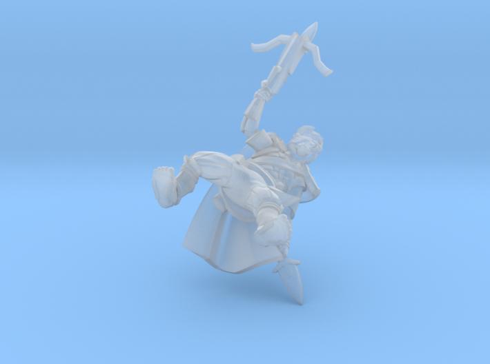 Halfling Assassin 3d printed