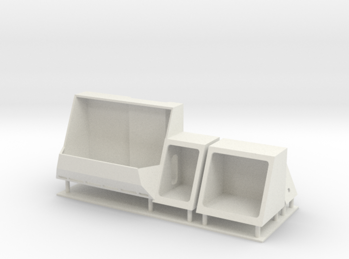 1/96 LCS 2 Side compartments 3d printed