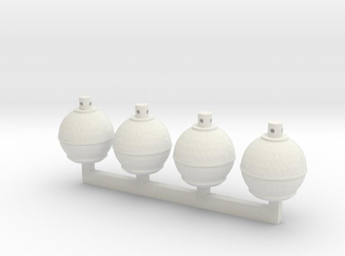 Smudge Pots (S) 3d printed