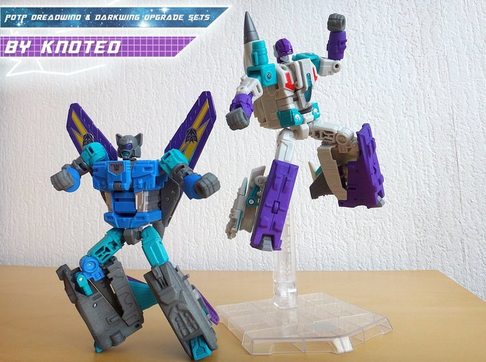 PotP Dreadwind Leg Upgrade Set 3d printed