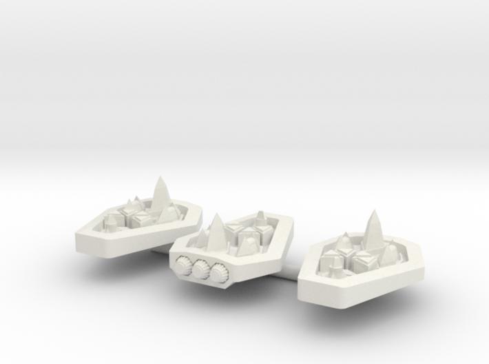 PH103 Syrotukan Escort Frigate (x3) 3d printed