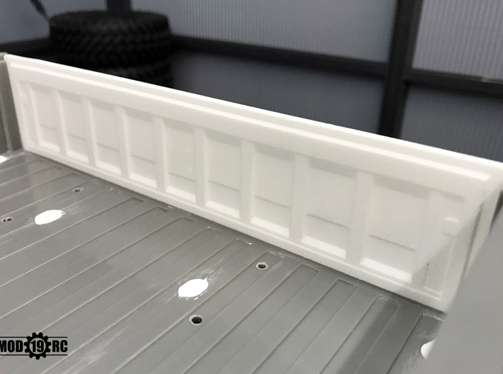 Tailgate - Late - Smooth for RC4WD Blazer 3d printed