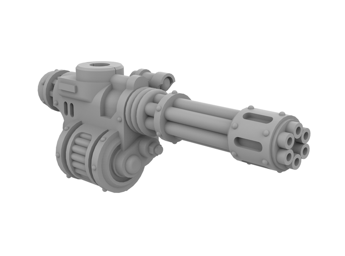 Unofficial Mini Knight Rotary Gun, Right Side 3d printed