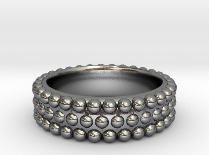 Hobnail Ring 3d printed
