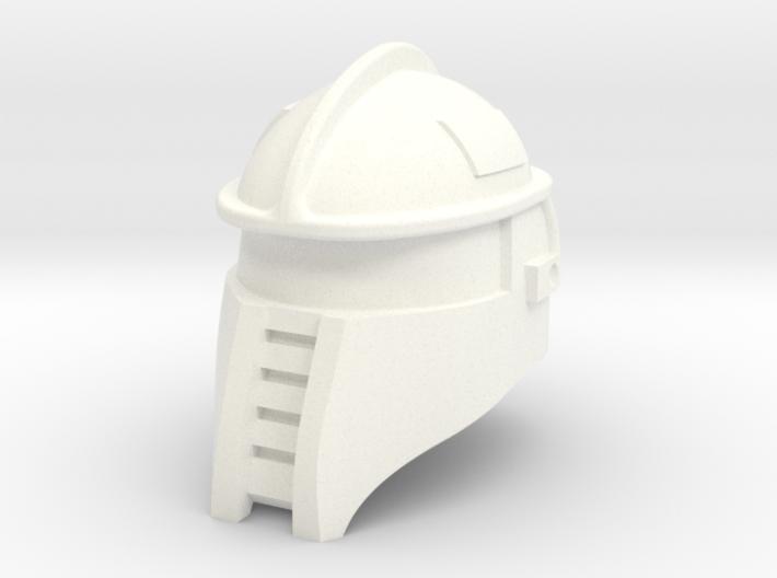 Battle Ram Driver Helmet 3d printed