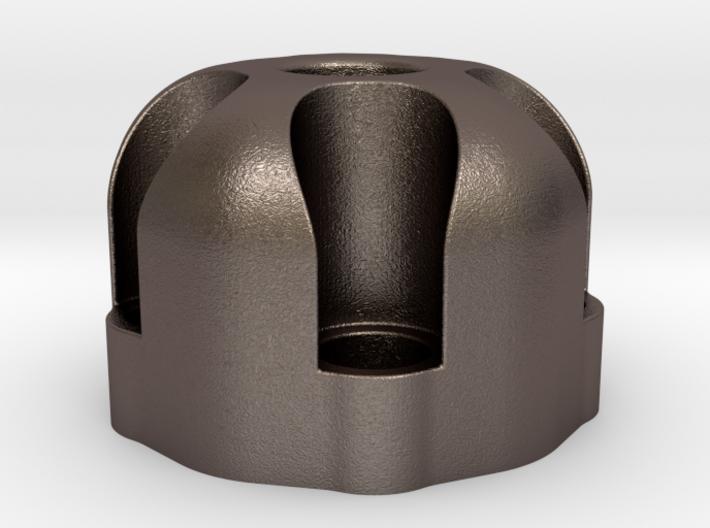 510 Thread Vape Cartridge Holder - Revolver Design 3d printed