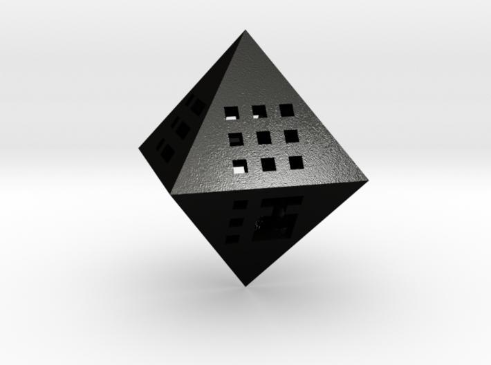 Octahedron - Pendant 3d printed