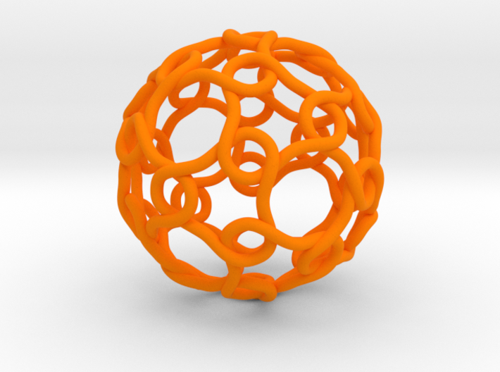Link with Icosahedral Symmetry 3d printed