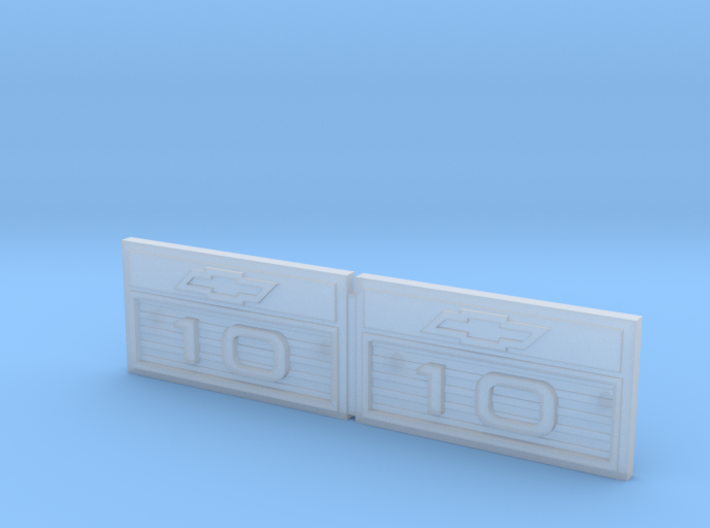 RCN049 Emblems for Chevy 66 Pro-Line 3d printed