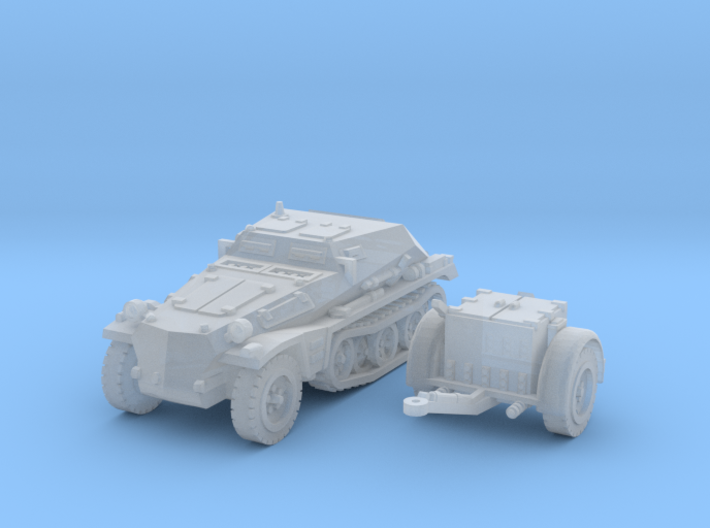 sdkfz 252 scale 1/144 3d printed