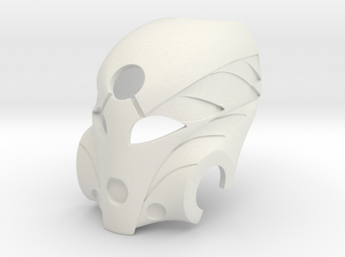 Kanohi Mask of Healing 3d printed