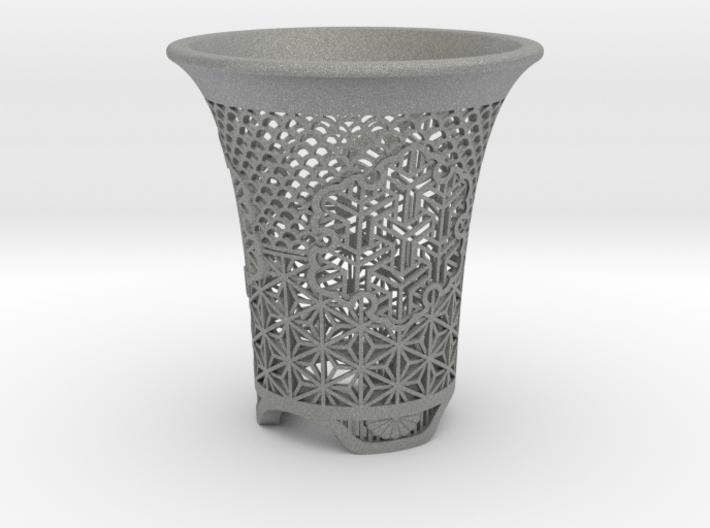 "Neo Pot - Model 6 - Size 3.5 (4.1"" OD) 3d printed"
