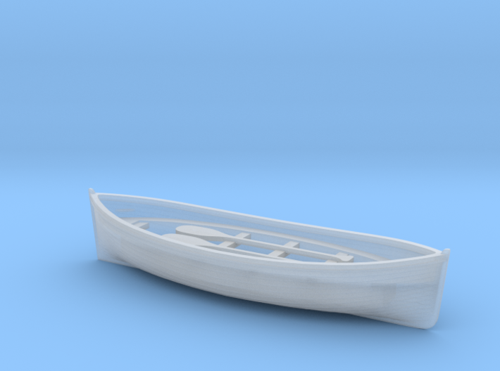 O Scale Lifeboat 3d printed This is a render not a picture