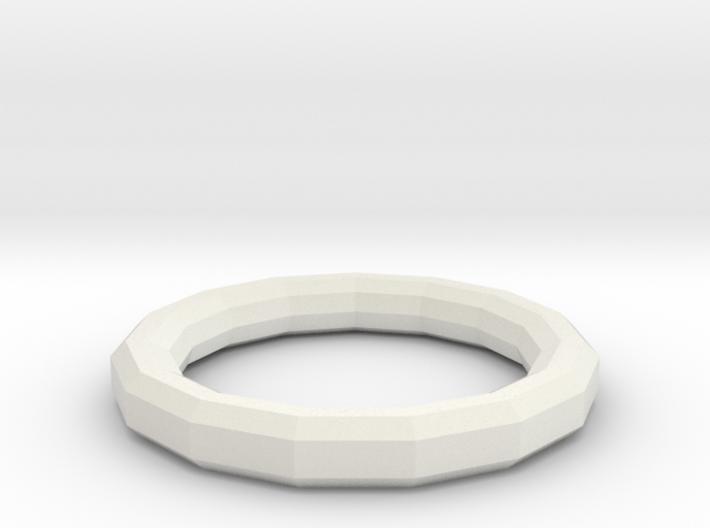 Simple Geometric Ring 3d printed