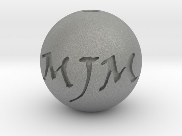 MJM Pendant 3d printed