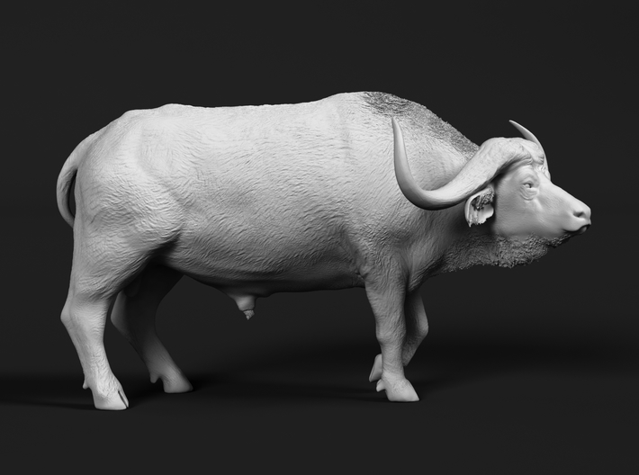 Cape Buffalo 1:72 Horizon 3d printed