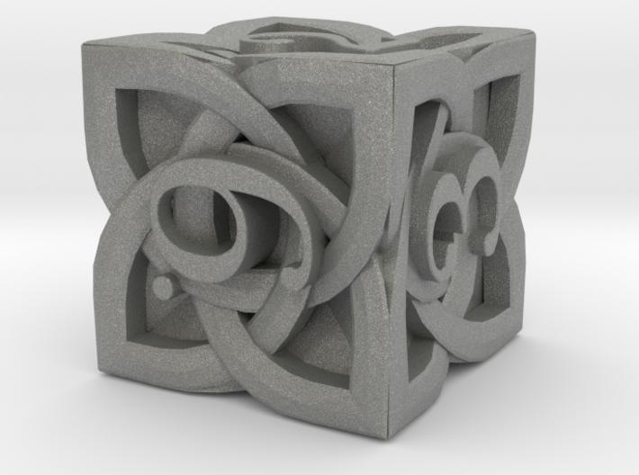 Celtic D6 - Solid Centre for Plastic 3d printed