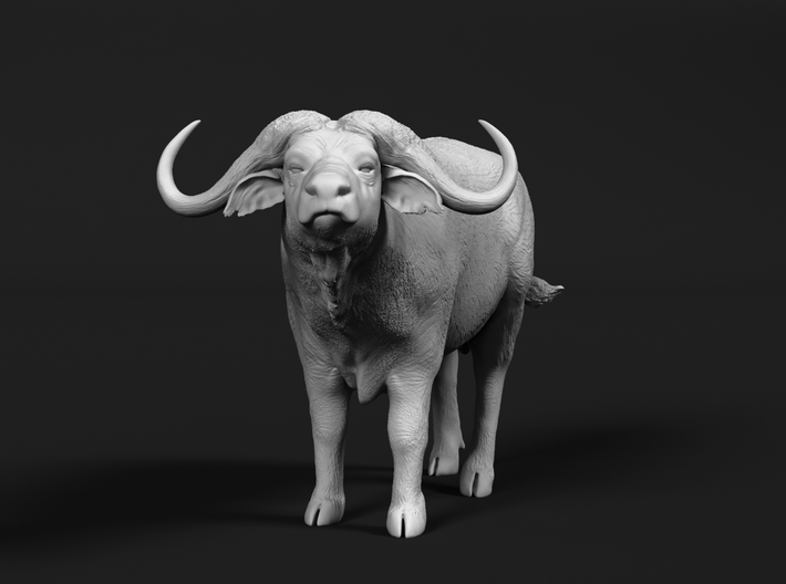 Cape Buffalo 1:87 Standing Male 2 3d printed
