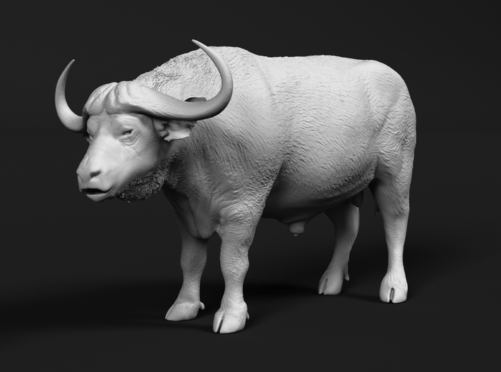 Cape Buffalo 1:35 Standing Male 4 3d printed