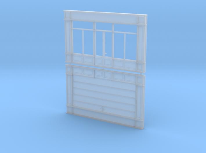 Devanture - Storefront - HO - 1/87 - (x2) 3d printed