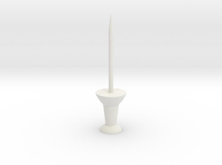 """Super Long Thumbtack Pushpin (1"""" Long) 3d printed"""