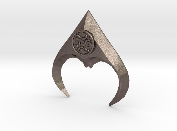 jareth's medallion half 3d printed