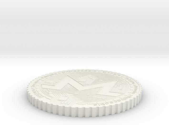 Monero Coin #2 3d printed
