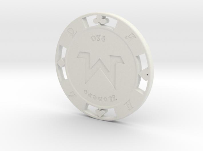 Monero Poker Chip 250 3d printed