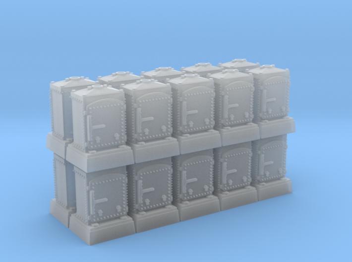 US&S Relay Box (N - 1:160) 20X 3d printed