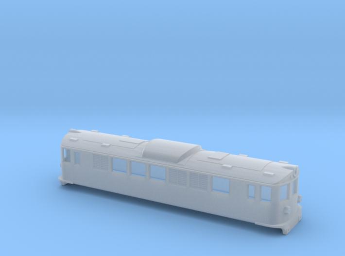 Swedish SJ electric locomotive type F - N-scale 3d printed