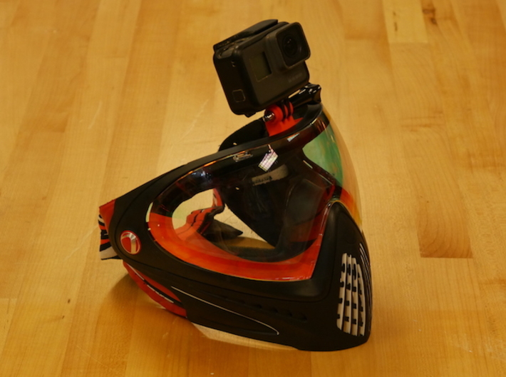 Dye I4 GoPro Mount for Paintball and Airsoft 3d printed