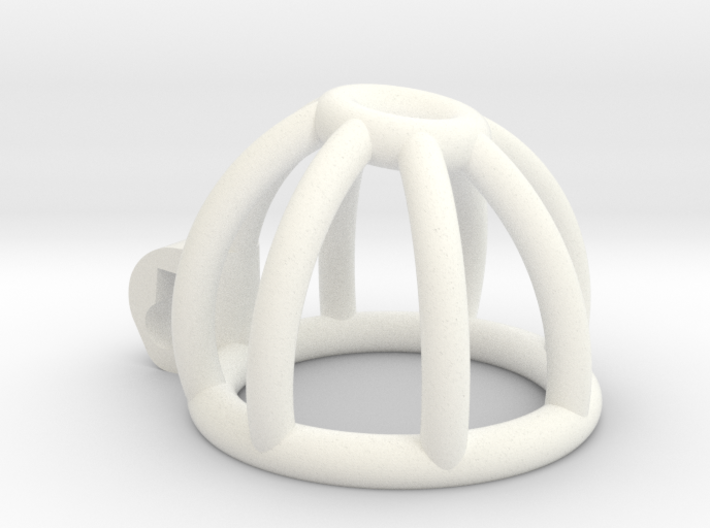 New Fun Cage - Cage - Short - Bars Ring Tip 3d printed