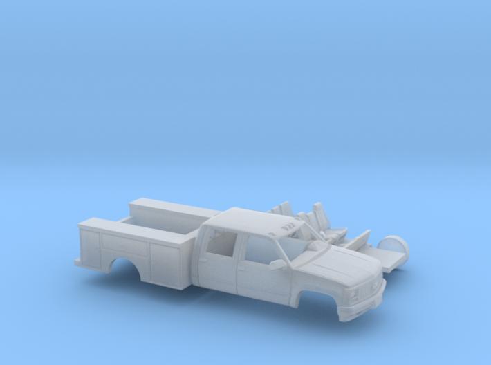 1/160 Chevrolet Cheyenne CrewCab Utility Kit 3d printed