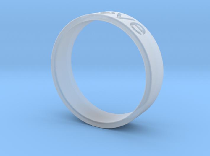 Love ring 3d printed