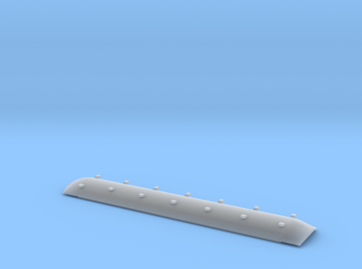 Bachmann 72' Coach Roof for Southern Pacific Subs 3d printed