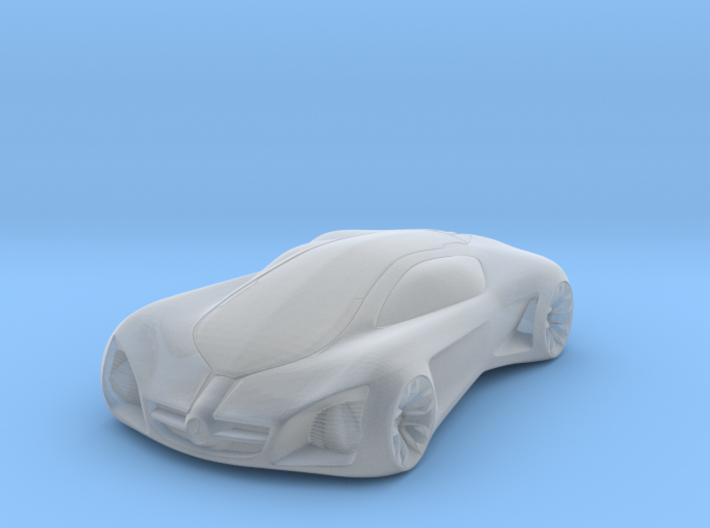 3D Printed Concept Car 3d printed