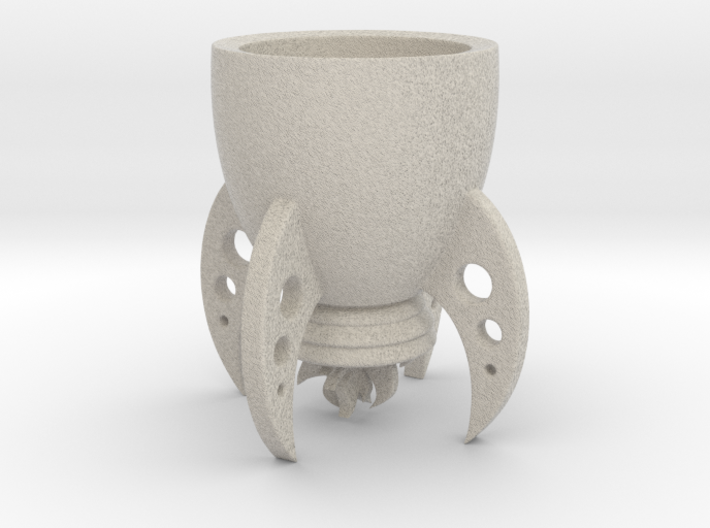 "Rocket cup ""Space XXl"" for Elon Musk 3d printed"