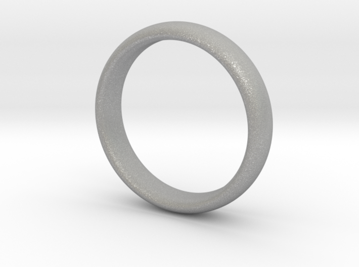 Simple wedding ring 3d printed