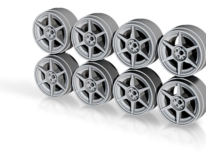 Buddy P1 8-2 Hot Wheels Rims 3d printed