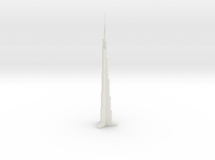 Burj Khalifa 3d printed