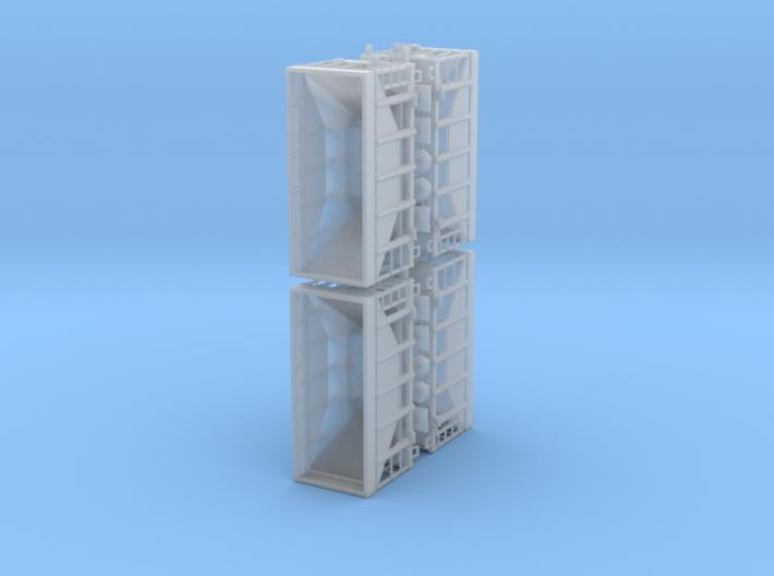 CNW Ore Car Four Pack, N Scale 3d printed