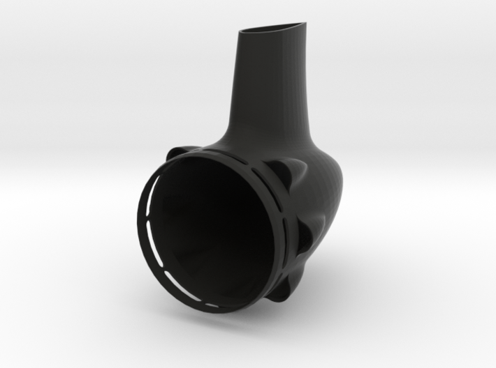 58mm Tailcone 3d printed