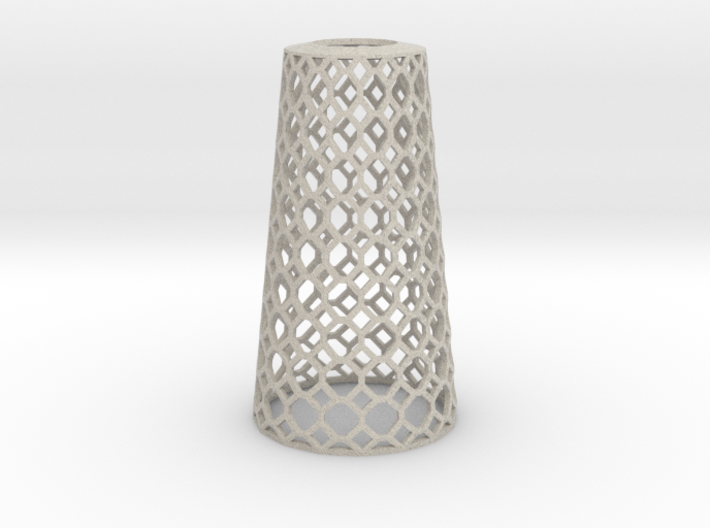 Lampshade_Cone_honey 3d printed