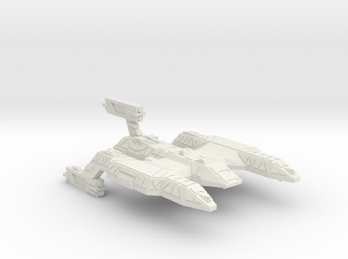 3788 Scale Lyran Refitted Wildcat Battlecruiser CV 3d printed