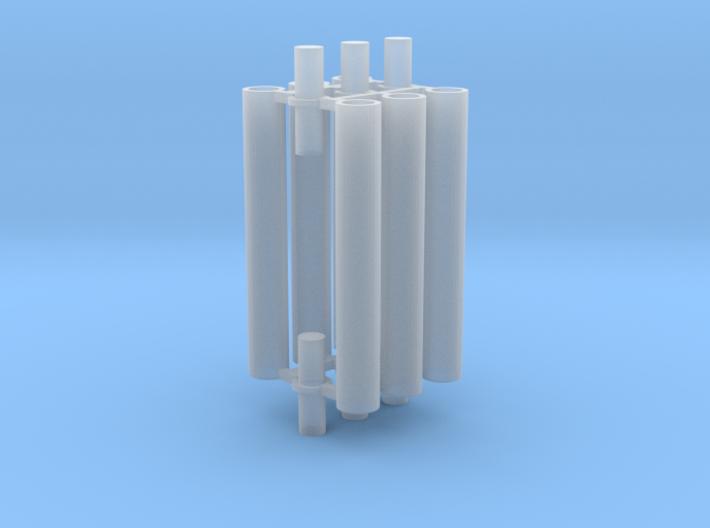 Rauchabzug Rohr 90mm 2erSet 1:120 TT 3d printed