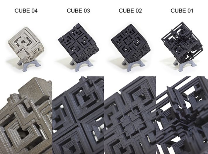 Cube 04 3d printed Other Cube Variations