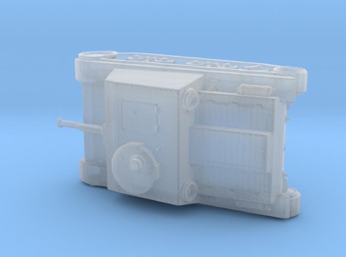 1/200th scale Skoda T-32 S.I.D. 3d printed