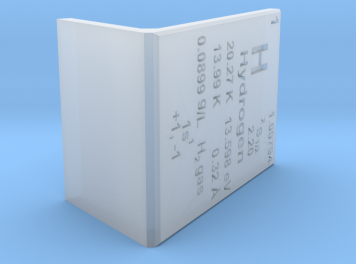 Hydrogen Element Stand 3d printed